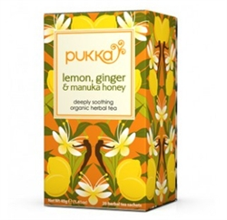 Image of   Pukka - Økologisk Te - Lemon Ginger Manuka Honey
