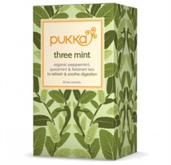 Image of   Pukka - Pukka Økologisk Te - Three Mint